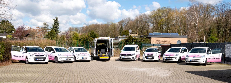 Fahrzeugflotte - Ihr Ambulanter Pflegedienst Harmonie GmbH in Hamm.